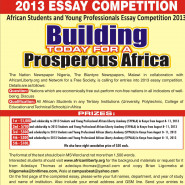 2013 Essay Competition