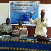 Essay Prize Presentation in Ghana