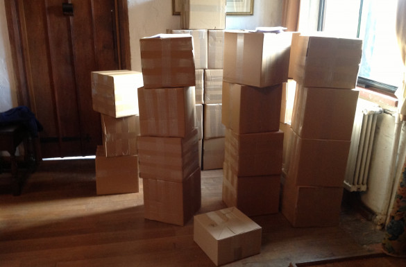 13,000 CD's left here today bound for Europe, Africa and Asia