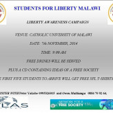 Liberty & Awareness Campaign