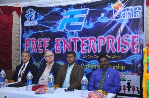 India's Future Foundation and Language of Liberty Seminars