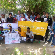 Activities of TEAM and Students for Liberty in Ethiopia 2014