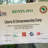 EXPERIENCE AT THE 2015 EDITION OF LANGUAGE OF LIBERTY CAMP IN KENYA