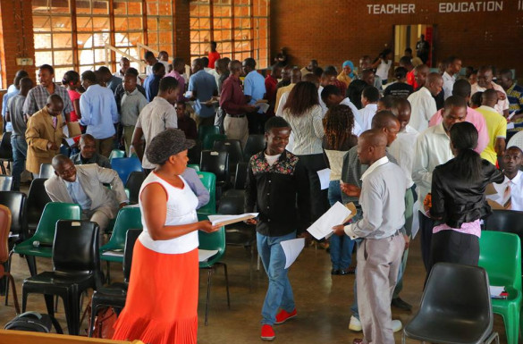 Student Seminar at the Domasi College of Education in Malawi