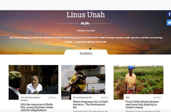 Linus Okechukwu Unah Winner of the 2016 Rising Tide Foundation Essay Contest